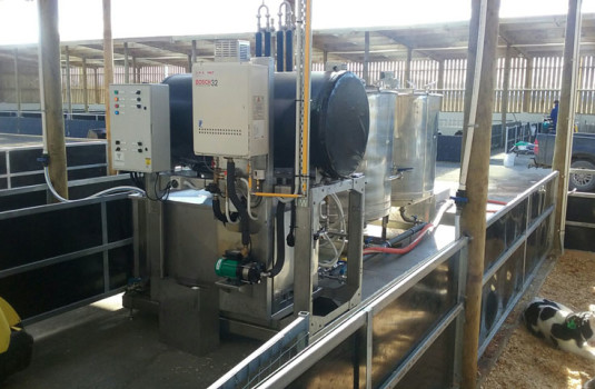 Vaportec Heat Exchangers | Dairy Milk Dropper